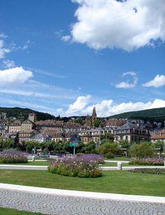 Town of Neuchâtel, Switzerland.