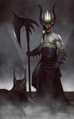 King of Hell by QuinnSimoes.deviantart.com on @DeviantArt