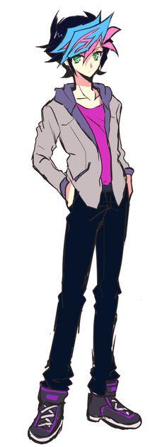 Yusaku in Ryoken's clothes Pretty Art, Cute Art, All Anime, Anime Guys, Superhero Stories, Yo Gi Oh, Harry Potter Pictures, Game Concept Art, Manga Love