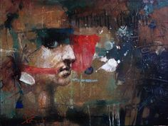 "Waclaw Sporski ""Gothic"" 60x80 Oil On Canvas  sporskiart.com"
