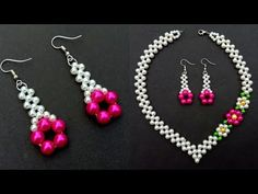 How To MakeA Stunning Pearl EarringsAt Dwelling Helpful Straightforward Informations About How To MakeA Stunning Pearl EarringsAt Dwelling Helpful Straight Beaded Earrings, Earrings Handmade, Handmade Jewelry, Beaded Bracelets, Pearl Earrings, Hoop Earrings, Pearl Necklace Designs, Beaded Jewelry Patterns, Bead Jewellery