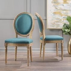 Shop for Phinnaeus Fabric Dining Chair by Christopher Knight Home (Set of 2). Get free shipping at Overstock.com - Your Online Furniture Outlet Store! Get 5% in rewards with Club O! - 20744502