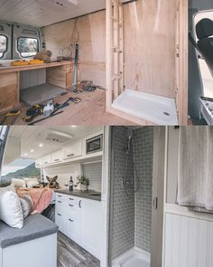 Go look at our web page for far more on the subject of this fantastic van life sprinter Van Conversion Interior, Camper Van Conversion Diy, Van Conversion With Bathroom, Sprinter Van Conversion, Bus Living, Tiny House Living, Kombi Home, Van Home, Campervan Interior