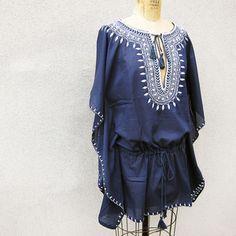 Image of Star Mela Elina embroidered tunic