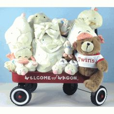 Neutral Twin Deluxe Welcome Wagon!