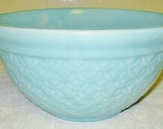 Light Blue Stoneware Bowl