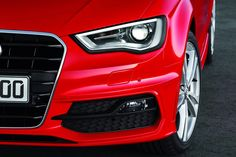 #Audi Releases UK Pricing of 2013 #A3 Hatch - [prices start at £19,205 and go up to £ 26,560, with Audi UK accepting orders now for first deliveries in September.    The redesigned from the ground up A3, which is the first VW Group model to use the new MQB modular platform architecture, will launch with a choice of two turbo petrol engines, a 1.4-liter TFSI with 120hp (122PS) and a 1.8-liter TFSI with 178hp (180PS), plus a 2.0-litre TDI diesel delivering 148hp (150PS).]