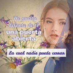No importa lo que tus ojos vean… no importa lo que las circunstancias te griten… #PromesasDeDios #PalabraDeAliento #PuertasAbiertas