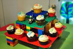 lego cake stand