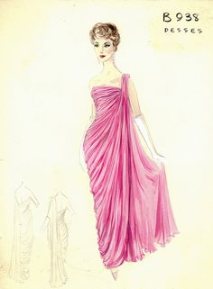 Desses Evening Gown by FIT Library Department of Special Collections, via Flickr