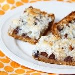 Gluten Free coconut & chocolate bars   Recipes | Make It and Love It