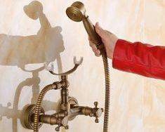 Luxusná sprchová batéria v retro štýle Bathroom Hooks, Retro Fashion, Style, Swag, Fashion Vintage, Outfits