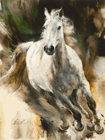 Chris Owen Artist Cowboy and Western Art Prints capture the ranch style life in all it detail. Cattle drives, Horses and more. Pretty Horses, Beautiful Horses, Horse Pictures, Art Pictures, Arte Equina, Horse Artwork, Cowboy Art, Cowboy Horse, Horse Drawings