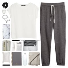 """""""me now at 11:11 PM"""" by novalikarida ❤ liked on Polyvore featuring H&M, MANGO, Apple, Margaret Howell, canvas, Topshop, Mulberry, Muji, Montblanc and Chantecaille"""