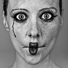 Retrato, porAnton Novozhilov