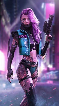 ArtStation - Cyberpunk female killer DaoDao Mao ArtStation - Cyberpunk female k. Cyberpunk 2077, Mode Cyberpunk, Cyberpunk Kunst, Cyberpunk Girl, Cyberpunk Aesthetic, Cyberpunk Fashion, Cyberpunk Tattoo, Cyberpunk Anime, Fighter Girl