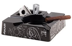 XIKAR Essence Ashtray with Cigar and Accessories