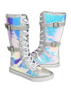 Faux Snakeskin Mid-Calf Sneakers | Sneakers | Shoes | Shop Justice
