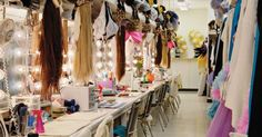 Jubilee dressing room | Glamour - Showgirl Style | Pinterest | Maybe someday, My heart and Las vegas