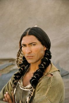 Jay Tavare, there's just something about Native American men...they're hot!