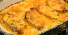 Satisfy the heartiest appetite with this mouthwatering pork chop casserole.