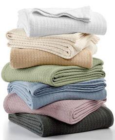 Lauren Ralph Lauren Classic 100% Cotton Blankets | macys.com