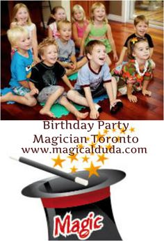Find here professional Birthday Party Magician in Toronto, and give a special surprise to your kids. Get more data by visiting us. http://magical-duda.blogspot.ca/2015/01/5-tips-to-consider-before-hiring.html