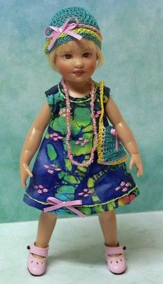"""Handmade outfit for Avery Kish doll - 7.5"""" by jdldollclothes.com"""