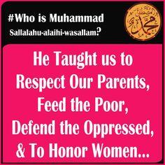 Who is prophet Muhammad?                                                       …