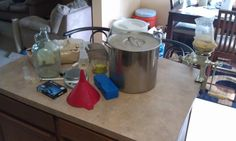 One Gallon Brewing: Setting Up an All Grain System -- Part 3 ~ Brain Sparging on Brewing