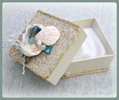 Seaside Gift Box  Perfect For Gift & Jewelry by A2SeaCreations, $7.99