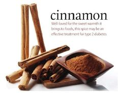 Cinnamomum cassia - just a 1/2 teaspoon a day has been found to regulate blood sugar levels (according to a study by the US Department of Agriculture's Human Nutrition Research Center) and can be helpful in the treatment of type 2 diabetes.     It is also prized for its potential anti-fungal, anti-bacterial, and anti-parasitic qualities, which may make it effective against yeast infections and the bacteria that causes stomach ulcers.  How do you use cinnamon in your foods?