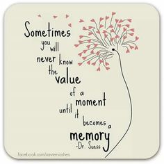 the value of a memory