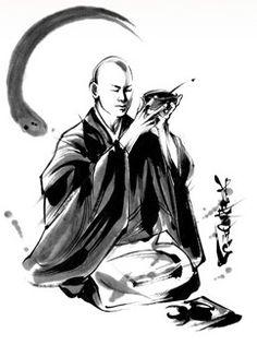 Oryoki tekening