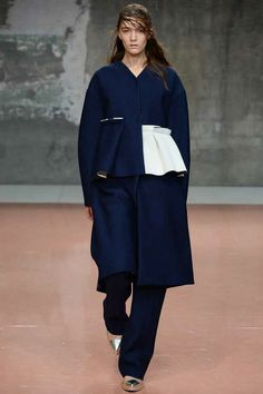 Marni Fall 2014 Ready-to-Wear Collection on Style.com.  I love the jacket.  But I would take all the pieces in this layered look.