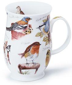 Dunoon Mugs Suffolk birdlife Robin Vintage Coffee Cups, Unique Coffee Mugs, Mugs And Jugs, Pretty Mugs, Cuppa Tea, Pottery Mugs, Personalized Mugs, Mug Cup, Flower Pots
