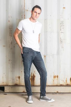 Slim style with a traditional 5 pocket construction. Handmade whiskering confers a used look and feel. Mom Jeans, Fall Winter, Normcore, Construction, Slim, Traditional, Pocket, Fitness, Pants