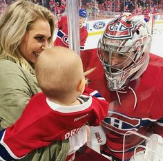 Liv Angela and Carey Price Hockey Goalie, Hockey Mom, Ice Hockey, Hockey Rules, Hockey Stuff, Hockey Girls, Boys, Relationship Goals Pictures, Cute Relationships