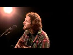"▶ ""Blackbird"" - Eddie Vedder - One of my favorite songs in the WHOLE world...Version by CSN - fav. but this one becasue of the audience interaction is priceless and Ed's reaction to them as he says ""beautiful""...."