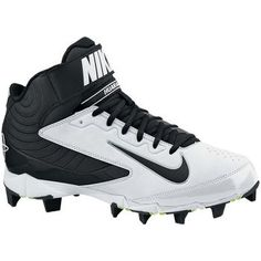 Nike Youth Huarache Keystone Mid Molded Baseball Cleats