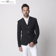 Horse Pilot Men's Aerotech Show Jacket in Black - NOW £239. The Horse Pilot Show Jacket is one of the world's lightest and most comfortable competition jackets, without compromising style and fashion.