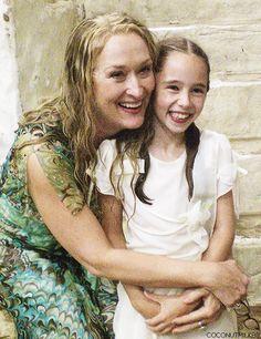 "Meryl Streep ✾ On the set of ""Mamma Mia! Mamma Mia, Female Actresses, Actors & Actresses, Barack Obama, Meryl Streep Movies, Maryl Streep, Forever My Girl, Movie Scripts, Emma Thompson"