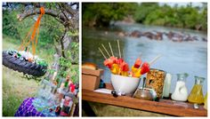 Grumeti Serengeti Tented Camp is in the heart of the Serengeti's wildlife action with front-row seats to the famed Great Migration river crossings Tanzania, Bush, Foodie, Africa Travel, Tent Camping, Table Decorations, Gourmet, Outdoor Camping