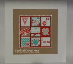 Karina's Kreations: Stampin'Up Valentine's Frame Insert!