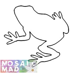 Printable frog pattern. Use the pattern for crafts, creating ...