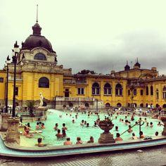 Szechenyi Bath Budapest | smarksthespots.com