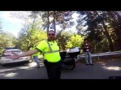 Motorista dominguero se caga al ver a la Guardia Civil