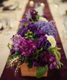 Purple! Images by jason-gina.com, flowers by www.bellafiori.com