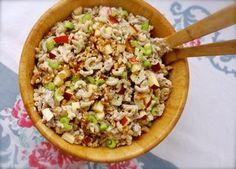 layered taco salad {in a cake pan}   ChinDeep   Bloglovin'