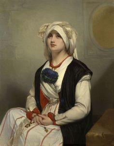 A Sicilian Woman -  Jan Frans Portaels 1861